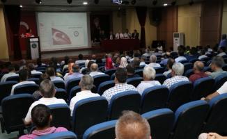Bartın'da güvenli eğitim toplantısı yapıldı