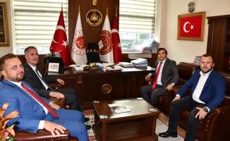 Başkan Taban'dan Adliye ziyareti