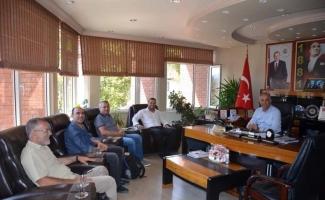 Biosun yetkililerinden Başkan Yaman'a ziyaret
