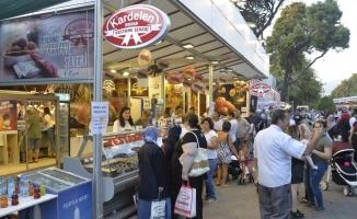 Bursa kestane şekeri İEF'e damgasını vurdu