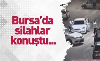 Bursa'da silahlar konuştu...O anlar kamerada