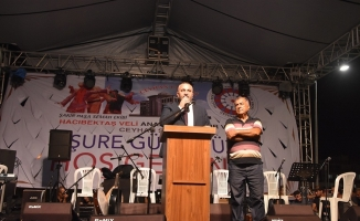Ceyhan Cemevi'nde aşure etkinliği yapıldı
