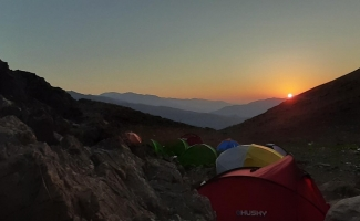 Cilo Trekking Spor Kulübü üyelerinden yürüyüş ve tırmanış etkinliği