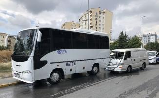 Esenyurt'ta sıkışmalı kaza: 1 yaralı