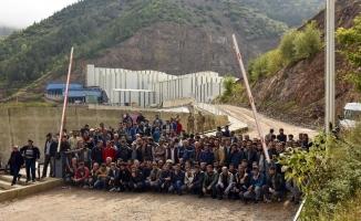 Gümüşhane'de maden işçilerinin maaş isyanı