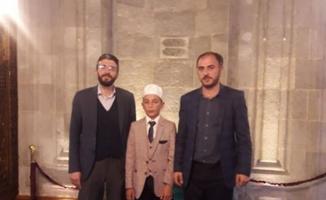 İbrahim Budak, 'Bölge Hafızlık Yarışması'nda birinci oldu