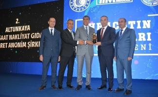 İhracatın Türkiye Şampiyonu Altunkaya'ya bir ödül de GAİB'ten