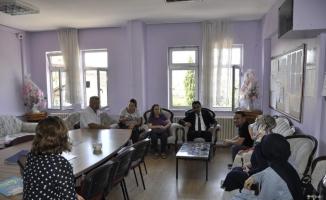 İlçe Milli Eğitim Müdürü Gümüş'ten ziyaret