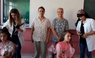 İzmirli ev hanımları köy çocukları için yollara düştü