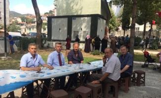 Kaymakam Sırmalı Gazicelal, Pınarbaşı ve Soğanyemez Mahalle hayırlarına katıldı