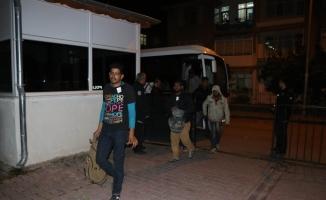 Kayseri'de 49 düzensiz göçmen yakalandı