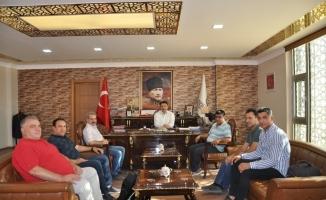 KGD'den Kaymakam Çam'a ziyaret