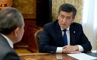 Kırgızistan Cumhurbaşkanı Ceenbekov'dan alfabe açıklaması