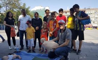 """Kırıkkale'de """"14 Eylül Dünya İlk Yardım Günü"""" etkinlikleri"""