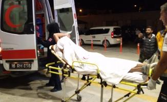 Maganda kurşunuyla yaralandı