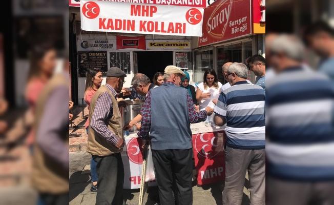 """MHP Kadın Kolları Başkanı Zehra Uysal: """"Her Yezid'in karşısında birde kadın vardır"""""""