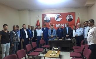 MHP'nin ilçe ziyaretleri sürüyor