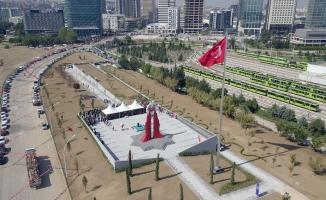 Mihraplı Şehitler Anıtı törenle açıldı
