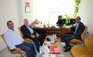 Milletvekili Demirbağ'dan İHA'ya ziyaret