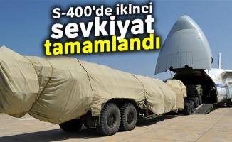 MSB: 'S-400'lerin ikinci batarya malzemelerinin Ankara'ya intikali tamamlandı'