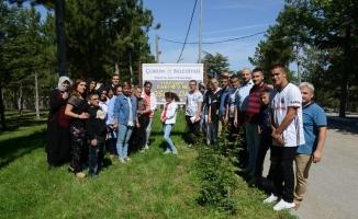 Öğrenciler belediye hayvan parkı'nı gezdi