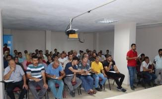 Osmaniye'de istihdam garantili işbaşı eğitim programı