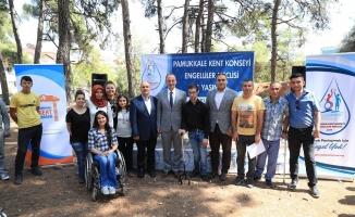 Pamukkale Belediyesi Kent Konseyi Engelliler Meclisi birinci yılını kutladı
