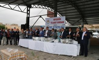 Rektör Bağlı, NTB'nin geleneksel aşure ikram etkinliğine katıldı