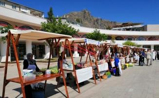 Şebinkarahisar'da organik ürün pazarı açılışı yapıldı