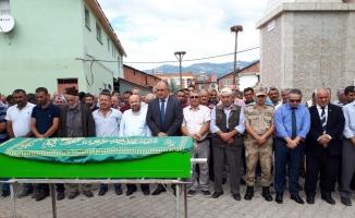 Şehit babası Mehmet Demir son yolculuğuna uğurlandı