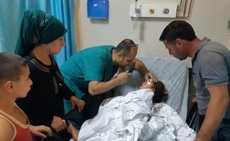 Siirt'te balkondan düşen 1 kişi yaralandı