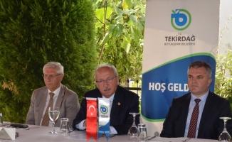 """Tekirdağ Büyükşehir Belediye Başkanı Albayrak: """"Toplantıdan son derece memnun oldum"""""""