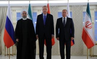 Türkiye-Rusya-İran Üçlü Liderler Zirvesi başladı