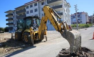 Yeni binaların altyapı ihtiyaçları karşılanıyor