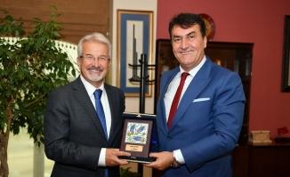 Başkan Dündar, Turgay Erdem'i ağırladı
