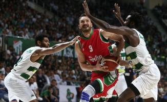 Basketbol Süper Ligi: Bursaspor: 77 - Pınar Karşıyaka: 85
