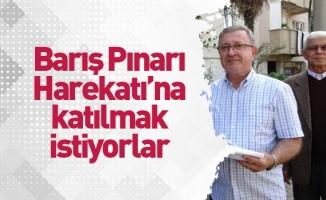 Bursa'da emekli binbaşılar harekat için askerlik şubesine dilekçe verdi