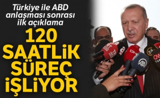 Cumhurbaşkanı Erdoğan'dan ABD ile varılan anlaşmaya ilişkin açıklama