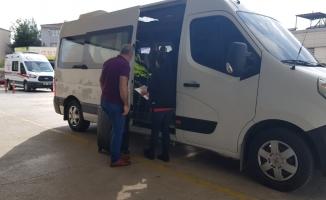 İnegöl'de fuhuş operasyonunda yakalanan 8 kadın sınır dışı edildi
