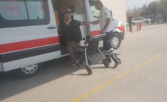 Kazada ortalık karıştı: 2 yaralı