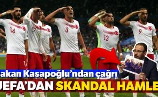 UEFA, asker selamına soruşturma başlattı