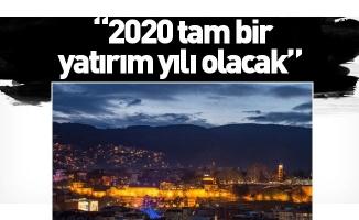 """Aktaş: """"2020 tam bir yatırım yılı olacak"""""""