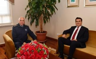 Albay Vatansever'den Dündar'a ziyaret