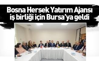 Bosna Hersek Yatırım Ajansı iş birliği için Bursa'ya geldi