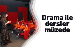 Drama ile dersler müzede