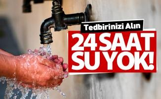 İnegöl'de 24 saat süreyle su kesintisi