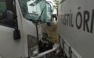 İnegöl'de sisle gelen kaza: 3 yaralı