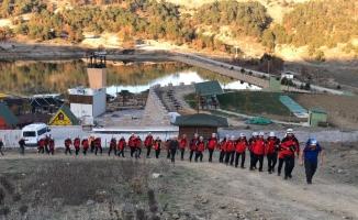 Kanyonda nefes kesen arama kurtarma eğitimi