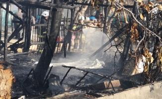 Kömürlükte çıkan yangında 5 yaşındaki Ömer yanarak can verdi