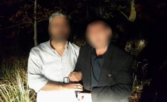 Köy meydanındaki cinayetin zanlısı saklandığı ormanda yakalandı